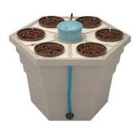 Гидропонная система GHE Hydro/Aero для 6 растений, fi-155mm, RAINFOREST 2,65л, 66x66xh43cm