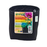 Gronest 4 л, горшок текстильный квадратный, 15x15xh18cm, аналог Smart Pot, Growbag