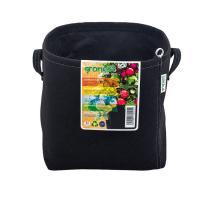 Gronest 11 л, горшок текстильный квадратный, 22x22xh23cm, аналог Smart Pot, Growbag