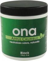 Нейтрализатор запахов ONA Block Apple Crumble 175 г