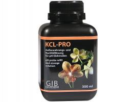 Жидкость для очистки электродов в pH метрах GIB KCL-PRO 300 мл