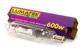 Лампа LUMATEK ДРи Growth Spectrum 600вт