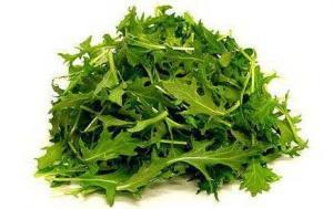 Капуста Мизуна зеленая
