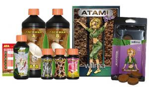 Набор удобрений и стимуляторов ATAMI COCOMAX + Rootfast, PK13 / 14 Atazyme