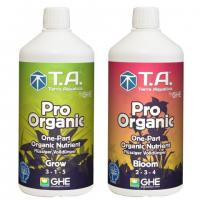 GHE Pro Organic Grow Bloom 2*1 л